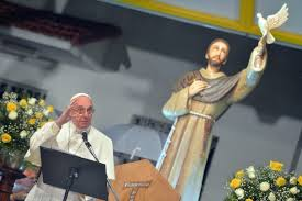 pope francis and st francis