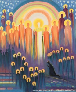 Gathering of Saints-690x832 Elizabeth Wang T-00042A-OL Copyright Radiant LIght