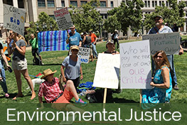 Green church supporting environment justice